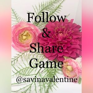 ⚜️FOLLOW GAME! NEW FRIENDS! Thanks Everyone! ❤️